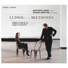 貝多芬:第3.7.10號小提琴奏鳴曲 巴普提斯.羅培茲 小提琴 / Baptiste Lopez / Beethoven / Sonates pour violon & piano n° 3, 7 & 10