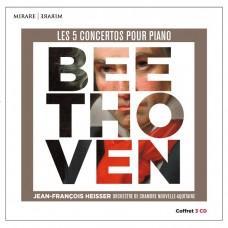 貝多芬: 五首鋼琴協奏曲全集 尚.芳斯瓦.海瑟 鋼琴 新阿基坦室內樂團 / Jean-Franqois Heisser / Beethoven: 5 Concertos pour Piano