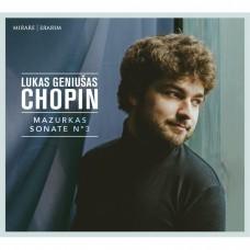 蕭邦:馬厝卡舞曲/第三號鋼琴奏鳴曲 盧卡斯·傑努薩斯 鋼琴Lukas Geniusas / Chopin: Mazurkas & Sonate No. 3
