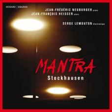 史托克豪森: 咒語 尚-方斯華.伊謝爾/紐伯格 鋼琴 雷蒙頓 電子合成樂器Neuburger & Heisser / Stockhausen: Mantra