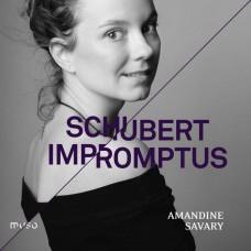 舒伯特:即興曲 D899.935 艾曼丁.薩瓦里 鋼琴 Amandine Savary / Schubert: Impromptus D.899 & D.935 (Muso)