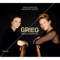 葛利格:3首小提琴奏鳴曲 薇娜塔.薩瑞伊卡 小提琴 Vineta Sareika / Edvard Grieg: Sonates pour violon et piano (Muso)