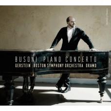 布梭尼:鋼琴協奏曲 基里爾.格斯坦 鋼琴 薩卡利.歐拉莫 指揮 波士頓交響樂團 檀格塢節慶男聲合唱團 Kirill Gerstein / Busoni: Piano Concerto