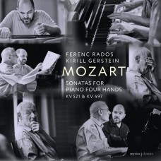 莫札特: 四手聯彈鋼琴奏鳴曲 菲瑞斯‧拉多斯 & 基里爾.格斯坦 鋼琴Ferenc Rados, Kirill Gerstein / Mozart: Sonatas for Piano Four Hands