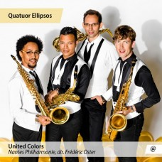 彩色聯盟 薩克斯風特集 省略符號四重奏 Quatuor Ellipsos / Philippe Geiss, Will Gregory, … : United Colors (NoMad)