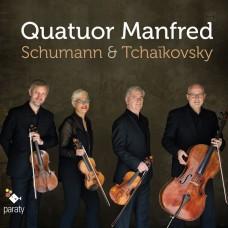 舒曼/柴可夫斯基:弦樂四重奏 曼弗列德弦樂四重奏 / Quatuor Manfred / Schumann & Tchaikovsky