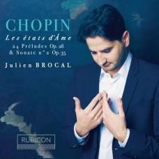 蕭邦:鋼琴曲集 朱利安.布羅卡 鋼琴 / Julien Brocal / Chopin: Les Etats D'ame