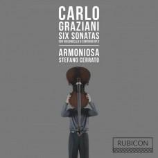 葛拉茲亞尼:六首大提琴奏鳴曲及數字低音奏鳴曲 作品3 史蒂法諾卡雷托 大提琴 / Carlo Graziani: 6 Sonatas for Violoncello and Basso Continuo, Op. 3