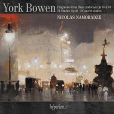 鮑溫: 漢斯.安徒生童話片段及練習曲集 尼可拉斯.納莫拉澤 鋼琴Nicolas Namoradze / Bowen: Fragments from Hans Andersen (Piano Works)