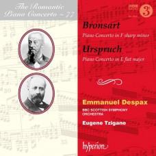 浪漫鋼琴協奏曲77 波恩薩特/烏許波: 鋼琴協奏曲 德斯派士 鋼琴Emmanuel Despax / Bronsart & Urspruch: Romantic Piano Concerto #77