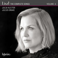 李斯特: 藝術歌曲全集第六集 茱莉亞.克萊特 女高音 朱利爾斯.德瑞克 鋼琴Julia Kleiter, Julius Drake / Liszt: The Complete Songs, Vol. 6