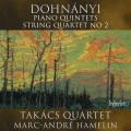 杜南伊:第1,第5號鋼琴五重奏/第二號弦樂四重奏 Takacs Quartet, Marc-Andre Hamelin / Dohnanyi: Piano Quintets & String Quartet No. 2