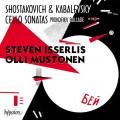 蕭士塔高維奇 /卡巴列夫斯基:大提琴奏鳴曲集 伊瑟利斯 大提琴 穆斯托年 鋼琴 Steven Isserlis / Shostakovich & Kabalevsky: Cello Sonatas
