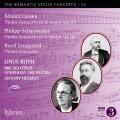 浪漫小提琴協奏曲第22集(拉森/夏爾溫卡/郎加德) 萊納斯.羅斯 小提琴 安東尼.何瑪仕 指揮 BBC蘇格蘭交響樂團Linus Roth / The Romantic Violin Concerto 22 - Lassen, Scharwenka & Langgaard: Violin Concertos