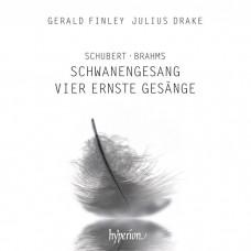 舒伯特: 天鵝之歌/布拉姆斯:四首嚴肅歌曲 吉拉德.芬利 男中音 朱利爾斯.德瑞克 鋼琴Gerald Finley, Julius Drake / Schubert: Schwanengesang & Brahms: Vier ernste Gesange