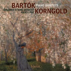 巴爾托克/康果爾德: 鋼琴五重奏 皮爾斯.藍 鋼琴 郭德納弦樂四重奏Goldner String Quartet, Piers Lane / Bartok & Korngold: Piano Quintets