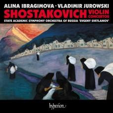 蕭士塔高維契: 第一,二號小提琴協奏曲 伊布拉吉莫娃 小提琴 尤洛夫斯基 指揮Alina Ibragimova, Vladimir Jurowski / Shostakovich Violin Concertos