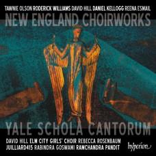 新英格蘭合唱作品 大衛.希爾 指揮 耶魯聖歌合唱學校唱詩班Yale Schola Cantorum / New England Choirworks