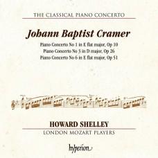 克萊默: 第1,3,6號鋼琴協奏曲 霍華.薛利 鋼琴/指揮 倫敦莫札特音樂家合奏團Howard Shelley / Cramer: Piano Concertos Nos 1, 3 & 6