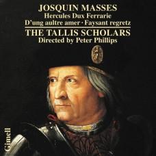 約斯坎.德.普瑞: 費拉拉公爵彌撒  菲利普斯 指揮 塔利斯學者合唱團The Tallis Scholars, Peter Phillips / Josquin des Pres: Missa Hercules Dux Ferrarie