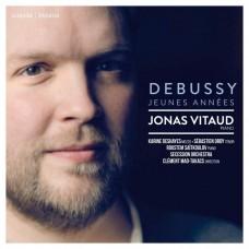 年輕時期的德布西(貝加馬斯克組曲等鋼琴曲) 約拿.維多 鋼琴Jonas Vitaud / Debussy Jeunes Annees