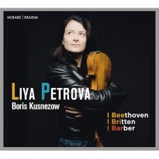 貝多芬/巴伯/布列頓:小提琴奏鳴曲 麗雅.佩特洛娃 小提琴 波利斯.庫茲涅佐 鋼琴Liya Petrova, Boris Kusnezow / Beethoven - Britten - Barber