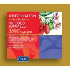 (2CD)海頓:彌撒曲(聖奇西里亞) / 喬梅利: 謝恩讚美歌 庫貝利克 指揮 巴伐利亞廣播交響樂團Kubelik / Haydn: Missa Cellensis, Jommelli: Te Deum