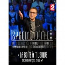 (4PAL-DVD)塞傑的音樂學院+音樂盒7 塞傑 鋼琴La Zygeld Academie + La Boite A Musique de Jean-Francois Zygel  Vol.7