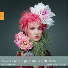 韋瓦第:小提琴協奏曲第八集(劇院) 朱利安·修方 小提琴 旅館音樂會合奏團Julien Chauvin, Le Concert de la Loge / Vivaldi: Concerti per violino VIII 'Il teatro'