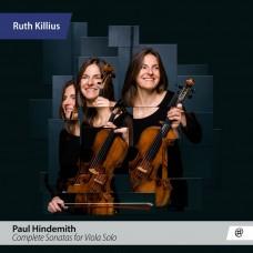 亨德密特: 中提琴無伴奏奏鳴曲全集 露絲.基利烏斯 中提琴Ruth Killius / Hindemith: Complete Sonatas for Viola Solo