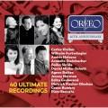 Orfeo廠牌40週年紀念: 40位演奏家及歌唱家終極錄音ORFEO 40th Anniversary Edition: 40 Ultimate Recordings