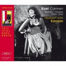 比才:歌劇(卡門)全曲 葛蕾斯.班布麗 女中音 卡拉揚 指揮 維也納愛樂Karajan / Georges Bizet: Carmen Salzburger Festspiele 1967/7/29