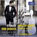 理查‧史特勞斯: (唐吉軻德)與大提琴作品集  丹尼爾.繆勒-修特 大提琴Daniel Muller-Schott / R. Strauss: Don Quixote, Sonata for cello and piano, Songs Opp. 10 & 32