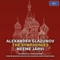 葛拉祖諾夫: 交響曲全集 尼米.賈維 指揮 Neeme Järvi / Glazunov: The Symphonies