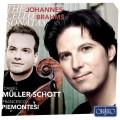 布拉姆斯: 大提琴奏鳴曲全集 丹尼爾.穆勒修特 大提琴 皮耶蒙特吉 鋼琴Daniel Muller-Schott, Francesco Piemontesi / Brahms: Sonata for cello & piano