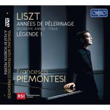 李斯特: 巡禮之年第二年(義大利) 弗朗西斯柯.皮耶蒙特吉 鋼琴Francesco Piemontesi / Liszt: Annees de Pèlerinage; Deuxieme annee - Italie & Legende 2