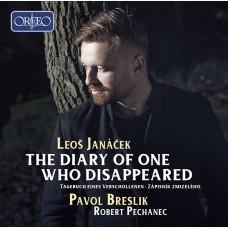 楊納傑克 :聯篇歌曲(一個失蹤者的日記) 帕佛.布雷斯利克 男高音Pavol Breslik, Robert Pechanec / Janacek: The Diary of One Who Disappeared