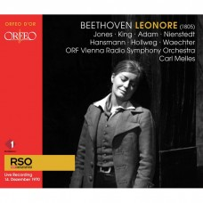 (2CD)貝多芬:歌劇(蕾奧諾拉) 卡爾·梅勒斯 指揮 ORF維也納廣播交響樂團Carl Melles / Beethoven: Leonore