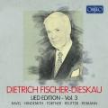 男中音 費雪-迪斯考藝術歌曲紀念,第三集Dietrich Fischer-Dieskau: Lied Edition Vol. 3