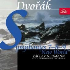 德弗札克:7.8.9號交響曲 紐曼 指揮 捷克愛樂管弦樂團Vaclav Neumann / Dvorak: Symphonies Nos 7-9