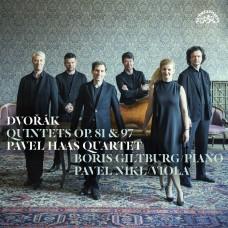 德佛札克:鋼琴五重奏/弦樂五重奏  帕菲爾.哈斯弦樂四重奏Dvorak: Quintets Op. 81 & 97  (2LP) / Pavel Haas Quartet, Boris Giltburg, Pavel Nikl