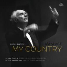 史麥塔納:我的祖國 庫貝利克 指揮 (1990年布拉格之春音樂會)Smetana: My Country. A Cycle of Symphonic Poems  (2LP) / Czech Philharmonic, Rafael Kubelik