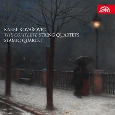 科瓦洛維奇: 弦樂四重奏全集(第1-3號) 史塔米克四重奏 Stamic Quartet / Kovarovic: The Complete String Quartets