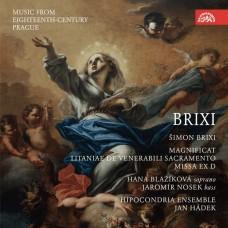 18世紀布拉格音樂(布里克西:聖母頌歌) 楊·哈德克 指揮 疑神疑鬼合奏團Hipocondria Ensemble / Brixi: Magnificat.Music from Eighteenth-Century Prague