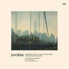 (3LP)德佛札克: 第8,9號交響曲 馬克拉斯爵士 指揮 布拉格交響樂團Charles Mackerras / Dvorak: Symphonies Nos. 8 & 9