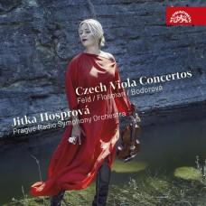 捷克中提琴協奏曲 伊卡.哈斯普洛娃 中提琴 布拉格廣播交響樂團Jitka Hosprova, Prague Radio Symphony Orchestra / Flosman, Feld & Bodorova: Czech Viola Concertos