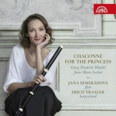獻給公主的夏康舞曲 塞梅拉多娃 巴洛克橫笛Jana Semeradova, Erich Traxler / Chaconne For The Princess –  Handel & Leclair