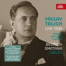 史麥塔納:歌劇(李布謝) 塔利許 指揮 捷克愛樂管弦樂團Czech Philharmonic, Prague National Theatre Orchestra, Vaclav Talich / Smetana: Libuse (Live 1939)