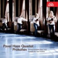 帕菲爾.哈斯弦樂四重奏 / 普羅高菲夫:弦樂四重奏第1&2號 / Prokofiev: String Quartets Nos 1 & 2, Sonata for Two Violins / Pavel Haas Quartet