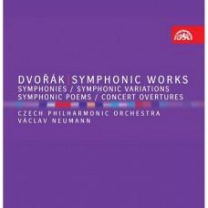 ((8CD)德弗札克:交響樂作品 紐曼指揮捷克愛樂交響樂團 / Vaclav Neumann / Dvorak: Symphonic Works